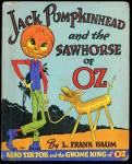 Click here to enlarge image and see more about item BCHILD131: Vintage Jack Pumpkinhead & the Sawhorse of Oz
