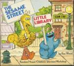 Click here to enlarge image and see more about item BK24: Vintage Sesame Street Little Library :