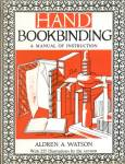 Click here to enlarge image and see more about item BNAC21: Hand Bookbinding A Manual of Instruction