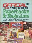Click here to enlarge image and see more about item BNCOL68: Official 1983 Price Guide to Paperbacks & Magazines