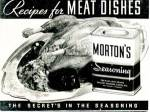 Click here to enlarge image and see more about item BNCP123: Recipes For Meat Dishes