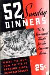 Click here to enlarge image and see more about item BNCP293: Vintage 52 Sunday Dinners