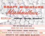 Kraft Miniature Marshmallows: Recipes for Cooking