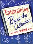 Click here to enlarge image and see more about item BNCP75: Entertaining Round the Calendar the easy Knox way
