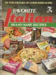 Click here to enlarge image and see more about item BNCS566: Favorite Italian Brand Name Recipes