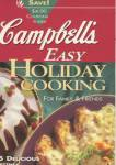 Campbell's Easy Holiday Cooking for Family & Friends