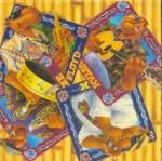 Click here to enlarge image and see more about item BREWAD65: Joe Camel 4-Piece Joes Beach Club Coaster Set w/Box