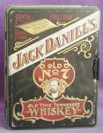 Click here to enlarge image and see more about item BREWG10: Vintage Jack Daniel's Old No. 7 Metal Tin