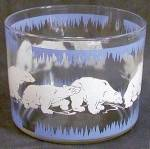 Click here to enlarge image and see more about item BREWG25: Vintage Hazel Atlas Polar Bear Ice Bucket