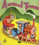 Click here to enlarge image and see more about item BW31: Vintage Animal Train Tell-A-Tale Book