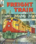 Click here to enlarge image and see more about item BW3: Vintage Freight Train Elf Book