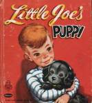 Click here to enlarge image and see more about item BW40: Vintage Little Joe's Puppy Tell-A-Tale Book