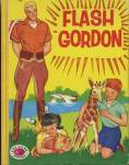 Click here to enlarge image and see more about item BW45: Vintage Flash Gordon Treasure Book