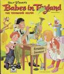 Vintage Walt Disney's Babes in Toyland Top Top Book