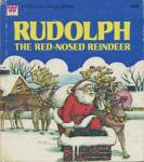 Click here to enlarge image and see more about item BW60: Vintage Rudolph The Red Nose Reindeer Tell-A-Tale Book