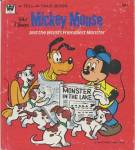 Click here to enlarge image and see more about item BW63: Walt Disney's Mickey Mouse & Frendliest Monster