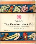 Click to view larger image of Vintage Cracker Jack Animated Jungleland Book (Image2)