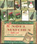10 Vintage Noel Matches Boxes