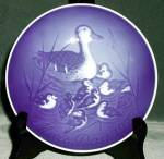 Bing & Grondahl Duck & Ducklings Mother's Day Plate