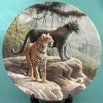 The Jaguar Collector Plate