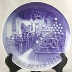 Bing and Grondahl Christmas in Church Plate
