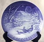 Bing and Grondahl Pheasants in the Snow Plate