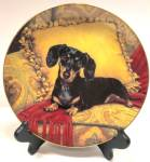 Dachshund Collector Plate
