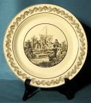 Click here to enlarge image and see more about item CDG11: Vintage Mottahedeh Plate