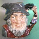 Click here to enlarge image and see more about item CDRD7: Royal Doulton Toby Jug Rip Van Winkle