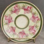 Click here to enlarge image and see more about item CDVHP32: Vintage C. T. Altwasser Rose Plate