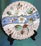 Click to view larger image of Antique Set of 6 Flower Plates (Image3)