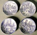 Wedgwood Blue & White Plates
