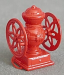 Click here to enlarge image and see more about item CHRISFIG158: Metal Coffee Grinder & Water Pump Christmas Ornaments