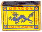 Vintage Dragon Safety Matches