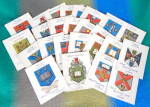 Arms Of Universities Cigarette Cards