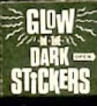 Click here to enlarge image and see more about item CJF8: Cracker Jack Toy Prize: Glow In The Dark Stickers