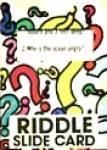 Cracker Jack Toy Prize: Riddle Slide Card