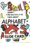 Click here to enlarge image and see more about item CJG7: Cracker Jack Toy Prize: Alphabet Slide Card