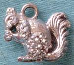Vintage Bubble Squirrel Charm