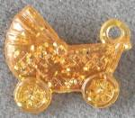 Click here to enlarge image and see more about item CO1: Vintage Buggy Charm