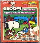 Color & Read Snoopy & His Friends in the Great Outdoors