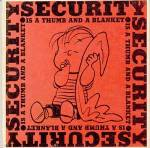 Vintage Peanuts Book Security