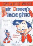 Click here to enlarge image and see more about item DBP10: Walt Disney's Pinocchio: Give A Little Whistle