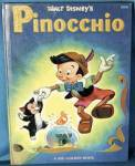Click here to enlarge image and see more about item DBP2: Vintage Disney Book: Pinocchio