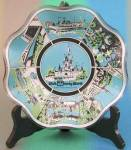 Click here to enlarge image and see more about item DISGEN1: Disney World Glass Souvenir Dish