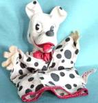 Click here to enlarge image and see more about item DISGEN23: Vintage 101 Dalmatians Perdita Puppet