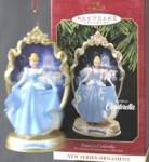 Click here to enlarge image and see more about item DISGEN41: Disney's Cinderella Christmas Ornament
