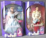 Click here to enlarge image and see more about item DISGEN49: Cinderella & Prince Charming Dolls with Glass Slippers
