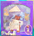 Click here to enlarge image and see more about item DISGEN91: Vintage Disney Cinderella Rag Dress