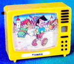 Click here to enlarge image and see more about item DISGEN94: Vintage German Pinocchio View Master Type TV